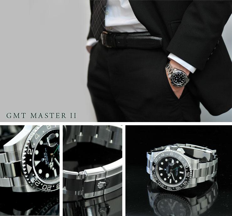 ロレックスGMTマスターII Ref.116710LN