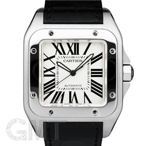 CARTIER カルティエ サントス 100 LM W20073X8