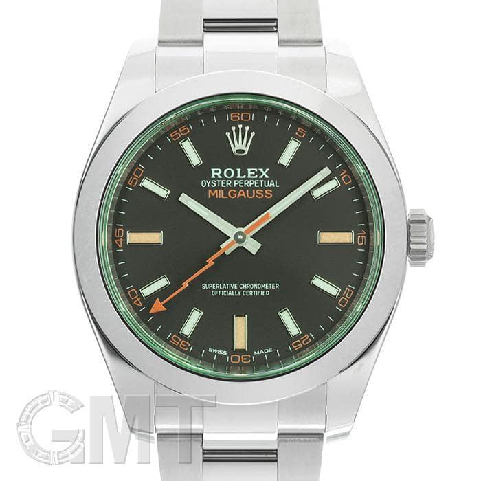buy online 9b42e 7b3eb ROLEX ロレックス ミルガウス 116400GV ブラック