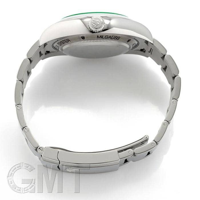 buy online e63e9 29245 ROLEX ロレックス ミルガウス 116400GV ブラック