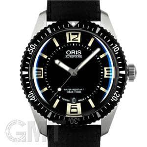 ORIS オリス ダイバース 65 ブラック ラバー 733 7707 4064 R メイン