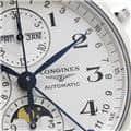LONGINES ロンジン マスターコレクション トリプルカレンダー ムーンフェイズ クロノグラフ L2.773.4.78.6 9