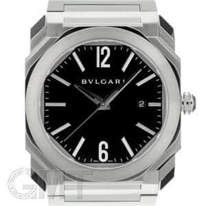 BVLGARI ブルガリ オクト BGO41BSSD ブラック SSブレス メイン