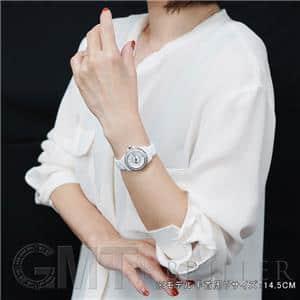 H2572 ホワイトセラミック ベゼルダイヤ MOP/8Pダイヤ 29mm