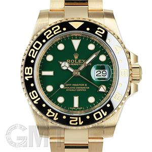ROLEX ロレックス GMTマスター II 116718LN グリーン ランダムシリアル メイン