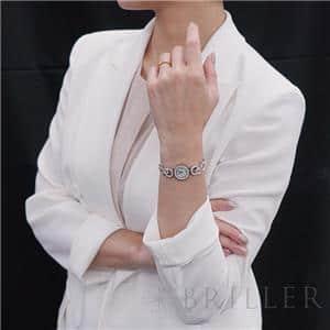 アバ デコ WA008503 ホワイトシェル 18mm ホワイトゴールド ブレス