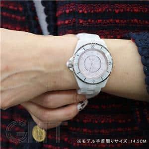 ピンクシェル 12Pダイヤ 38mm H5514【世界1200本限定】