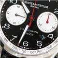 BAUME & MERCIER ボーム&メルシエ クリフトン クロノグラフ フライバック ブラック MOA10369 M0A10369 6