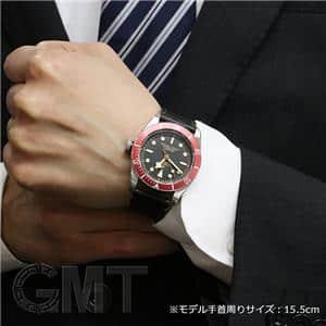 ブラック/レッドベゼル 79230R レザーベルト