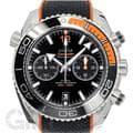 OMEGA オメガ シーマスター プラネットオーシャン 600M クロノグラフ ブラック オレンジ ラバー 215.32.46.51.01.001