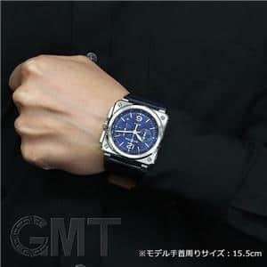 03-94 クロノグラフ BLUE STEEL BR0394※-BLU-ST/SCA