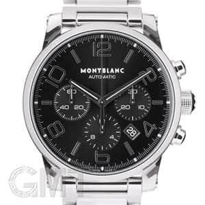 MONTBLANC モンブラン タイムウォーカー クロノグラフ オートマティック 9668 ブラック メイン