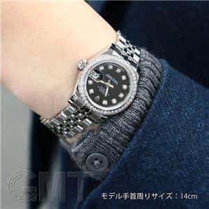 179384G ベゼルダイヤ ブラック