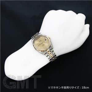 デイトデイ シャンパン 10Pダイヤ 36mm 76213