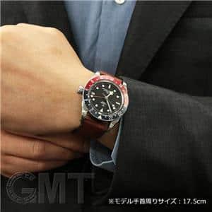 GMT 79830RB ブルー/レッド レザーベルト