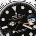 ROLEX ロレックス エクスプローラー II 216570 ブラック ランダムシリアル 5