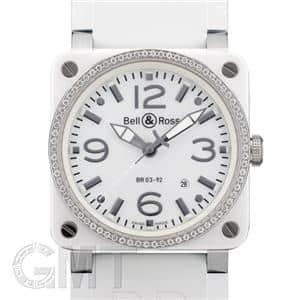 BR03-92 ホワイトセラミック/ラバー ダイヤベゼル