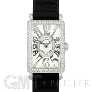 hot sale online fb2da bf572 FRANCK MULLER フランク・ミュラー ロングアイランド シルバーレリーフ 902QZDCD1R SS ダイヤモンド