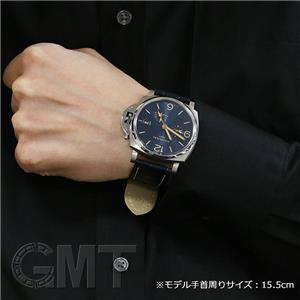 ドゥエ GMT パワーリザーブ 45mm PAM00964 ブルー