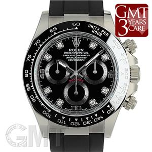 huge discount e870a b94b4 未使用)ROLEX ロレックス デイトナ 116519LN ブラック 8Pダイヤ ...