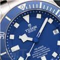 TUDOR チューダー ぺラゴス 25600TB チタンブレス ブルー 8