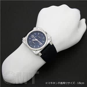 03-94 クロノグラフ BLUE STEEL BR0394-BLU-ST/SCA