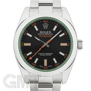 ROLEX ロレックス ミルガウス 116400GV ブラック ランダムシリアル メイン