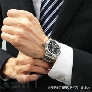 デュアルタイム ビッグデイト GM1056D-SJ-BK【アウトレット】