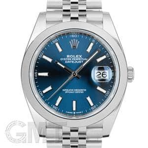 quality design 4054e 0091b ROLEX ロレックス デイトジャスト 41 126300 ブルー ジュビリーブレス