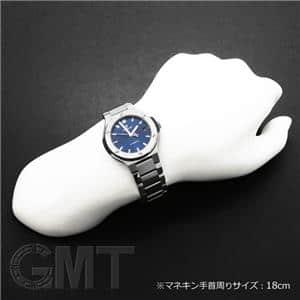 チタニウム ブレスレット ブルー 38mm 568.NX.7170.NX