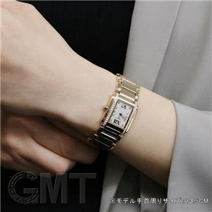 タイムレスホワイト ローズゴールド ベゼルダイヤ 4908/11R-011