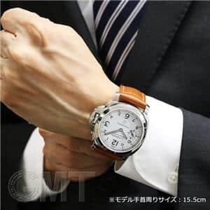 ロゴ 3days アッチャイオ 44mm ホワイト PAM00778