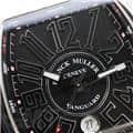 FRANCK MULLER フランク・ミュラー ヴァンガード V45SCDT ブラック レザー ホワイトステッチ 8