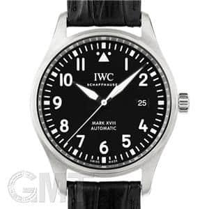 IWC インターナショナルウォッチカンパニー パイロットウォッチ マークXVIII IW327001 ブラック レザー メイン