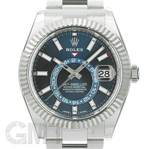 half off a7ff2 81173 新品)ROLEX ロレックス スカイドゥエラー 326934 ブルー(商品ID ...