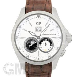 ムーンフェイズ&GMT シルバー 49655-11-132-BB6A