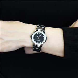 フュージョンチタニウム ブレスレット ブラック 33mm 585.NX.1170.NX